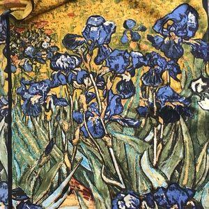 Robin - Ruth Van Gogh scarf 17x61,5